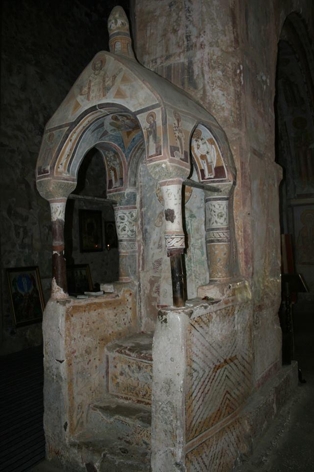 Interior of the Tsalenjikha Cathedral Church of the Transfiguration of Savior