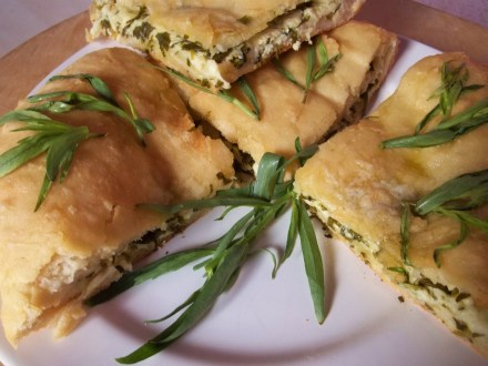 Khachapuri withTarragon - Copy