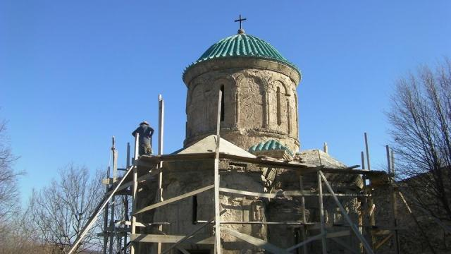 Restoration of Kvetera Church