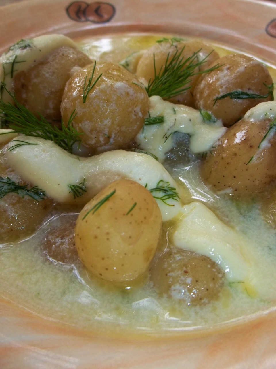 New Potato and Cheese Sou ready for Serving - Copy