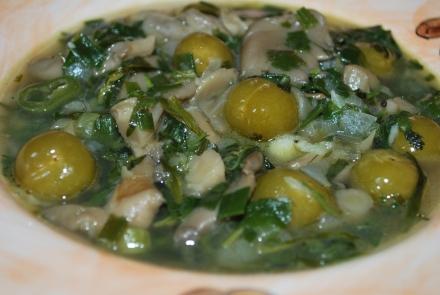 Oyster Mushroom Chakapuli