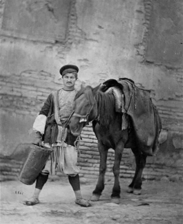 Selling water in 19th century Tiflis