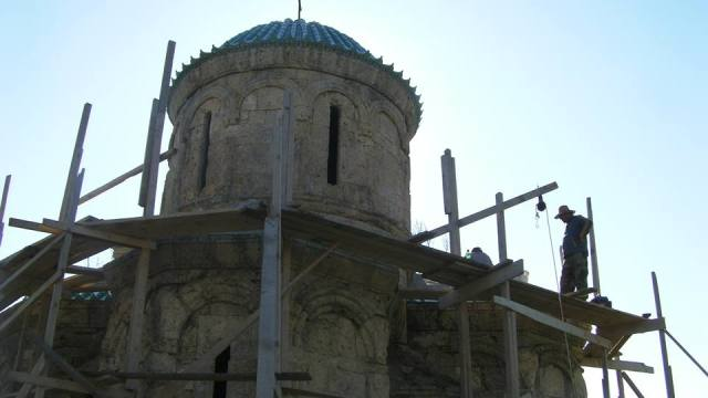 The restoration of Kvetera Church