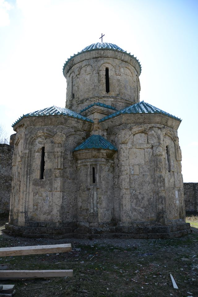 The restored Kvetera Church