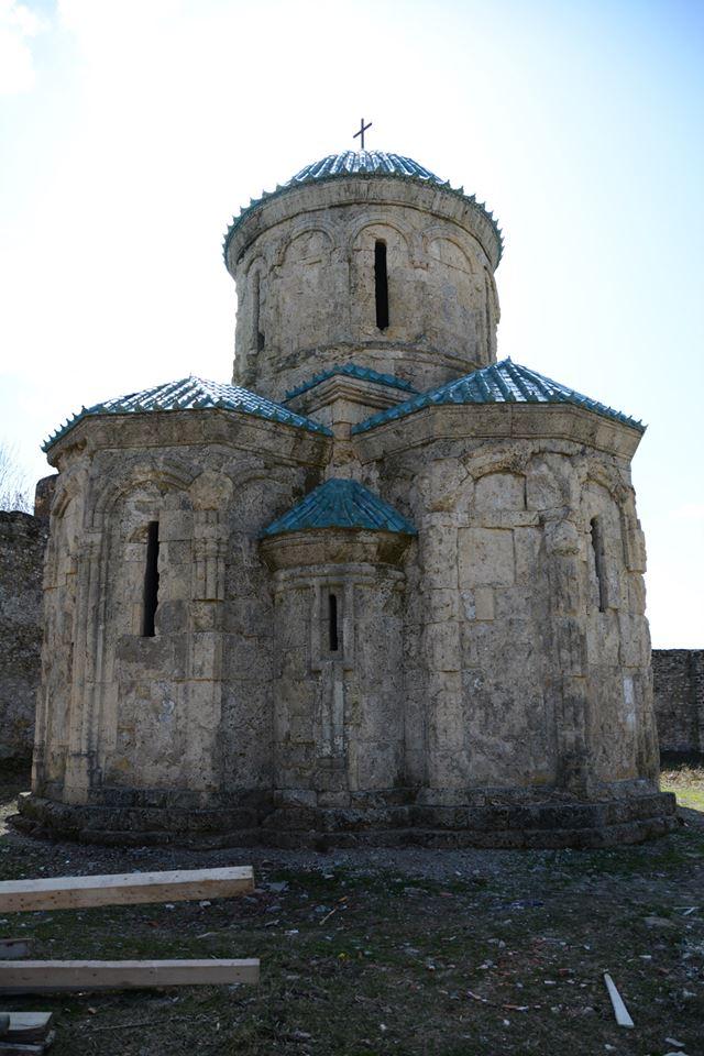 The restored Kvetera Church