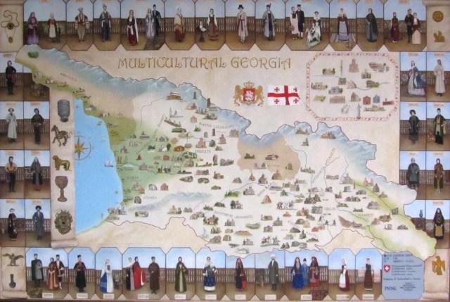 Cultural Map of Georgia