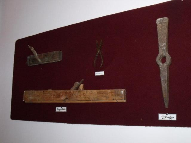 Exhibits at the Zhiuli Shartava Senaki Museum