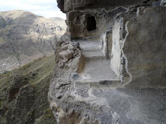 Vanis Kvabebi cave monastery.