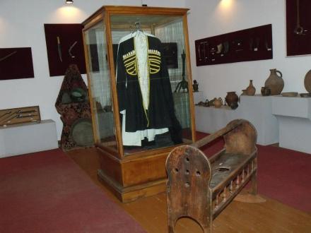 An exhibit at the Zhiuli Shartava Senaki Museum