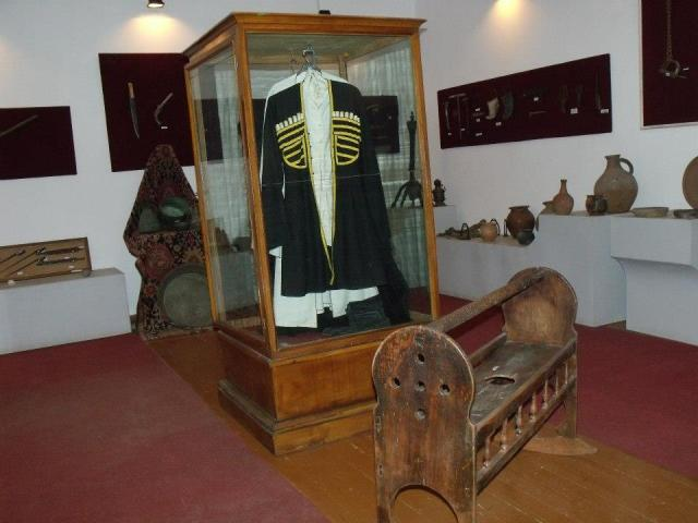 An exhibit at the Zhiuli Shartava Senaki Museum