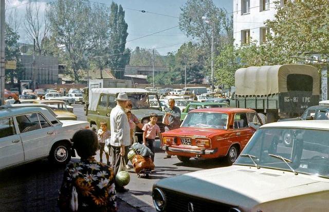 1970's Georgia. Photo taken in 1977 by Erhard K.