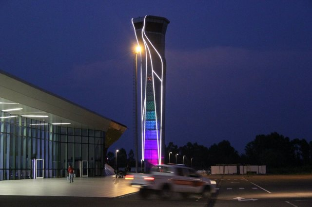 Air Traffic Control Tower. Photo courtesy of King David the Builder International Airport.