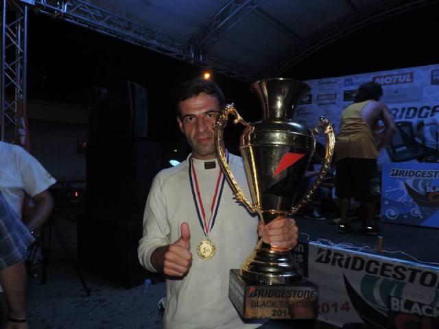 "MIA Force team driver Davit ""Data"" Kajaia (Georgian: დავით ""დათა"" ქაჯაია) - winner of the Bridgestone Black Sea Cup 2014"