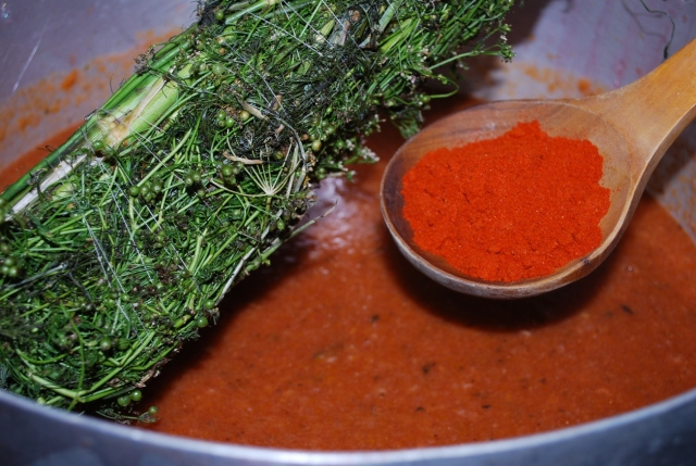 Adding Ingredients and Red Pepper - Copy