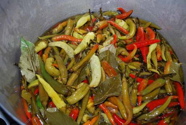 Boiled Peppers