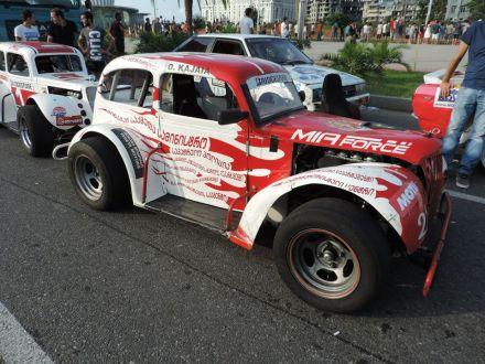 "MIA Force team driver Davit ""Data"" Kajaia's car at the Bridgestone Black Sea Cup 2014"