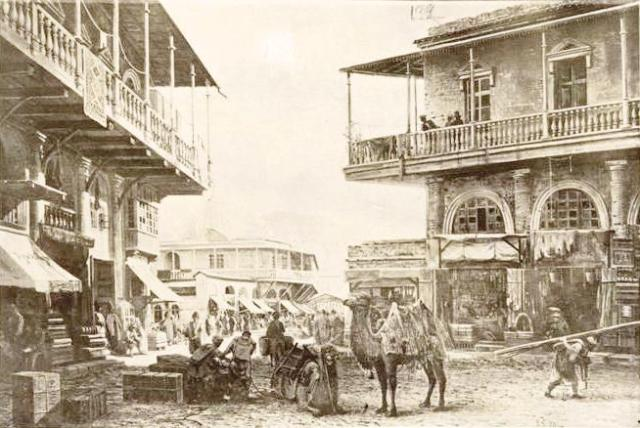 Camels in Tiflis in the 19th century