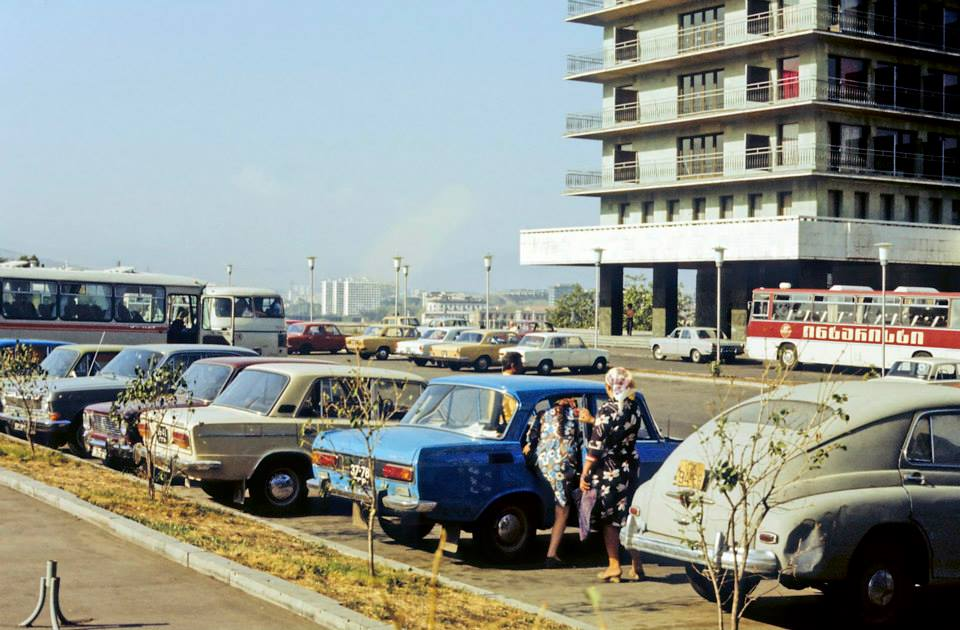 Live Videos Cars Tbilisi Georgia: About History – Photographs Of 1970's Georgia