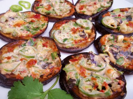 Eggplant with Ajika and Mayonnaise - Copy