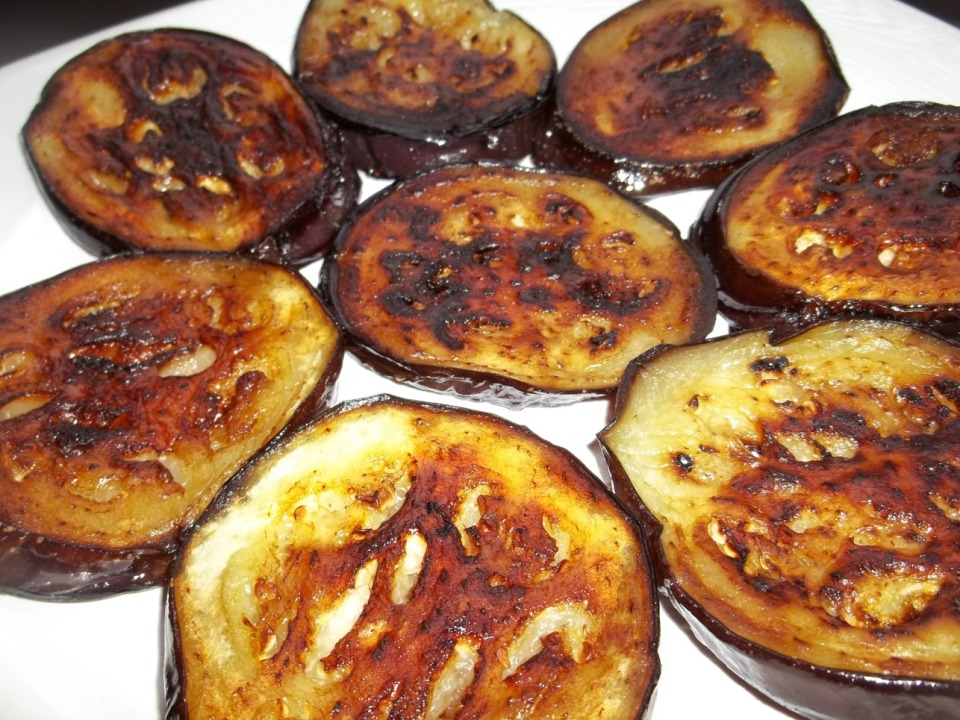 Fried Eggplant - Copy