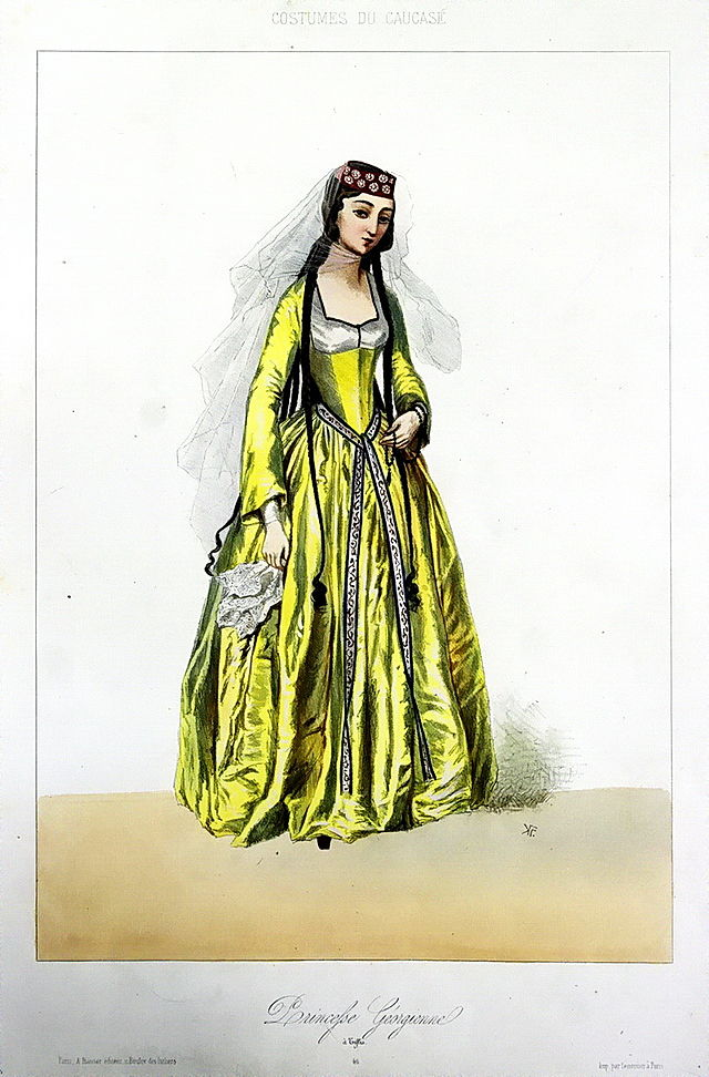 A Georgian princess by Grigory Gagarin.