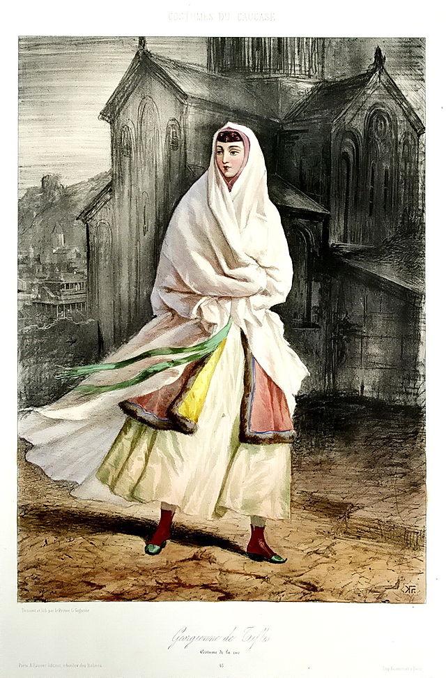 A Georgian woman from Tiflis by Grigory Gagarin.