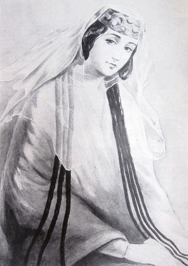 Princess Maiko Orbeliani by Grigory Gagarin.