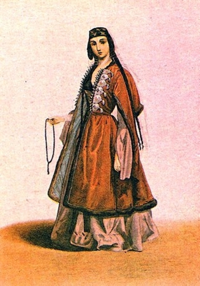 Georgian woman by Grigory Gagarin