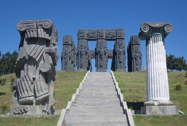 History of Georgia Monument