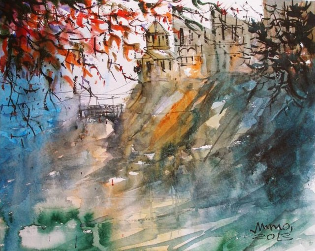 Impression of Tbilisi by Mimo Mondal