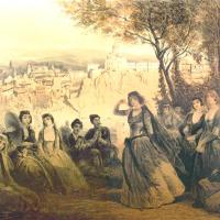 About Art - Paintings of Georgian Women by Prince Grigory Grigorievich Gagarin