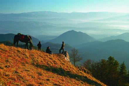 Panorama Trail in the Borjomi-Kharagauli National Park