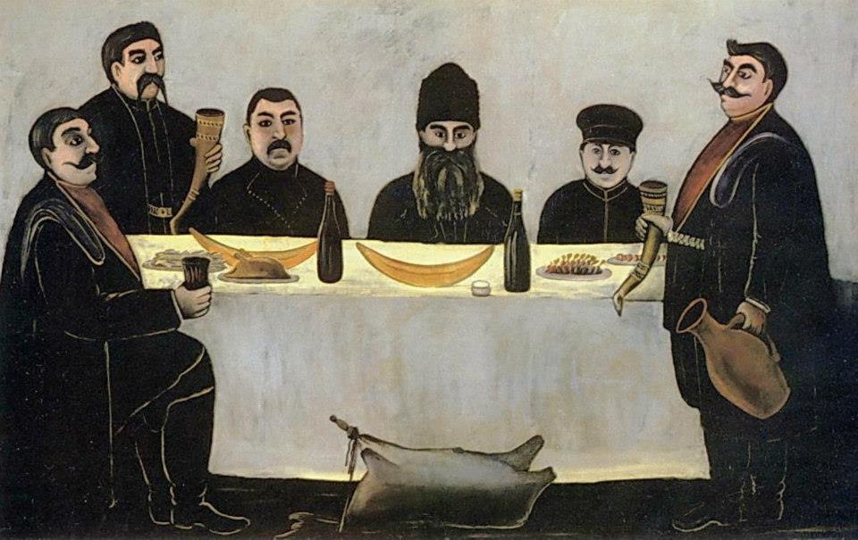 'Rant' by Georgian artist Niko Pirosmani