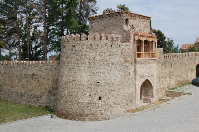 The Palace of King Erekle II in Telavi. Photo by Andrzej Wójtowicz via Wikimedia Creative Commons Licence.