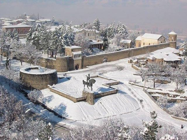 The Palace of King Erekle II in Telavi