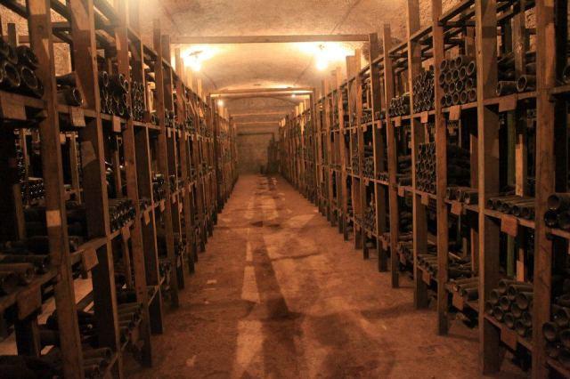 The wine cellar at Tsinandali