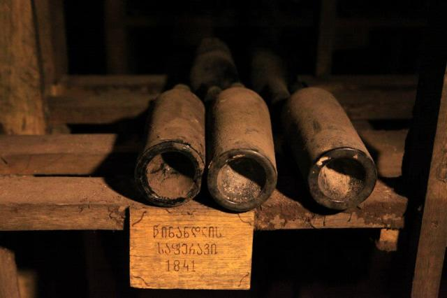 Three bottles of Chateau d'iquem from the 1861 harvest