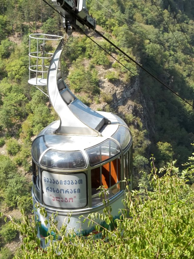 Borjomi Aerial Tramway car