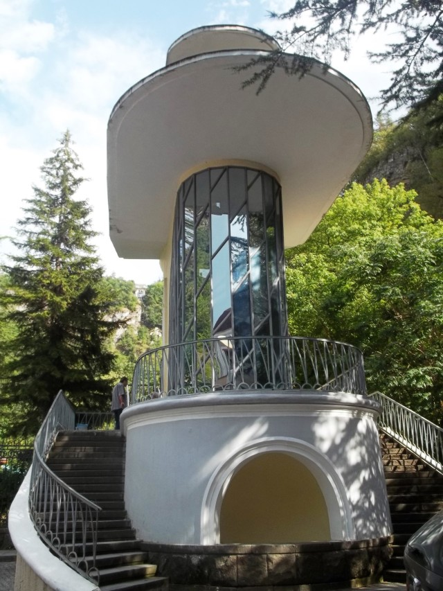 Lower station of the Borjomi Aerial Tramway