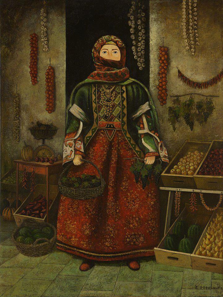 Painting by Zviad Gogolauri