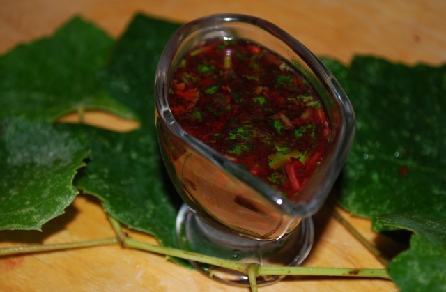 Blackberry and Green Grape Sauce - Copy