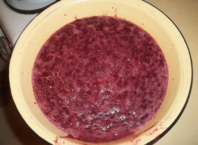 Boiled grapes and sugar - Copy