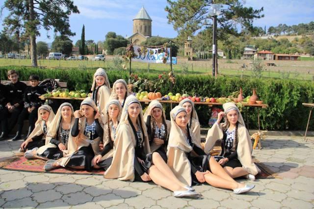 Dancers at the Mtskhetoba - Svetitskhovloba celebration