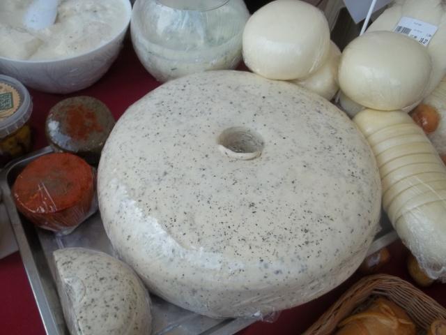 Georgian cheese at Tbilisoba
