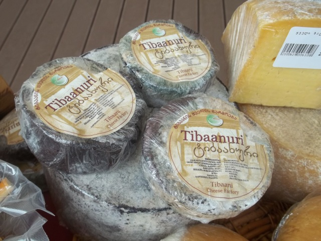 Georgian cheese at Tbilisoba.