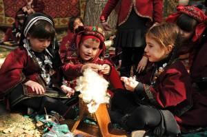 Kindergarten Autumn Festival in Tbilisi