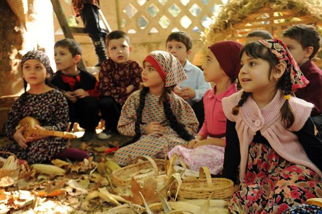 Kindergarten Autumn Festival in Tbilisi