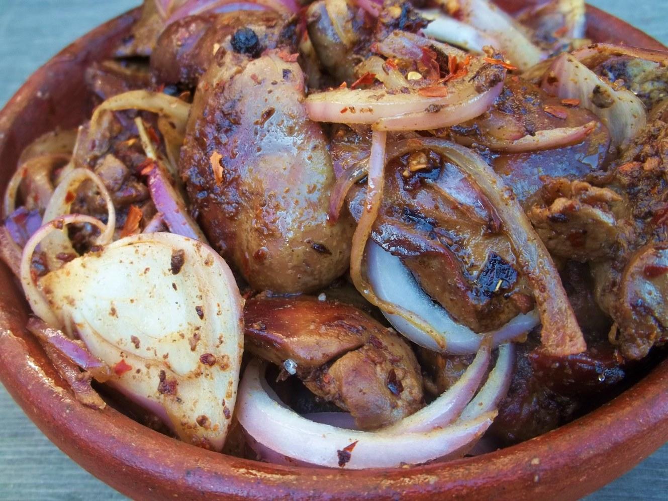 Чахохбили из курицы по-грузински пошаговый рецепт с грецким орехом