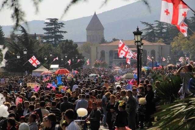 Mtskhetoba - Svetitskhovloba celebration