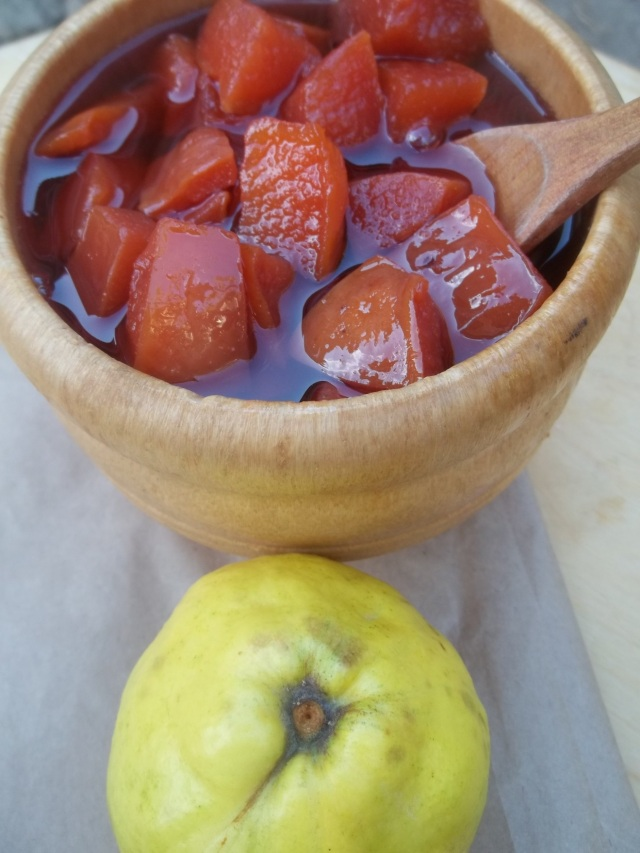 Quince Muraba ready for serving - Copy